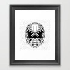 Day of the Dredd Framed Art Print