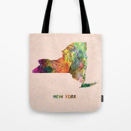 YORK, NEW YORK Tote Bag