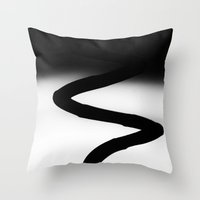dna Throw Pillows featuring Dna by ArtBite