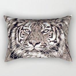 Rustic Style - Tiger 2 Rectangular Pillow
