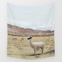 Alpaca Wall Tapestry