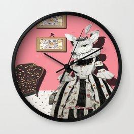 Deer Lady  Wall Clock