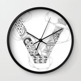 "Zenletter ""V"" Wall Clock"