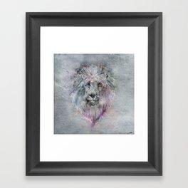 Heart like a Lion Framed Art Print