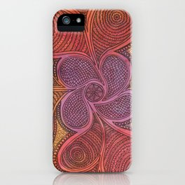 Free Your Mind in Color iPhone Case