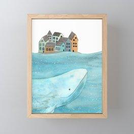 I'm here with you Framed Mini Art Print