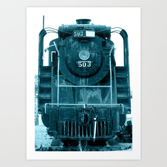 Train 2 Art Print
