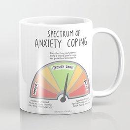 Anxiety Coping Spectrum Coffee Mug