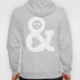 Peace and Love (pink edition) Hoody