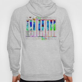 Piano Keyboard Hoody