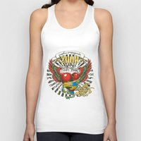 propaganda Tank Tops featuring Graphic propaganda by Tshirt-Factory