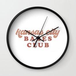 Kansas City Babes Club Wall Clock