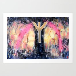 Hearga (sanctuary) Art Print