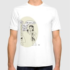 Loki Is Not Very Good At Magic Mens Fitted Tee SMALL White
