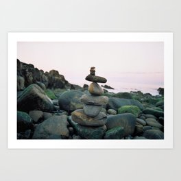 Stepping Stones Art Print