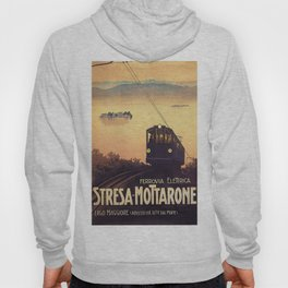 Vintage poster - Stresa-Mottarone Hoody