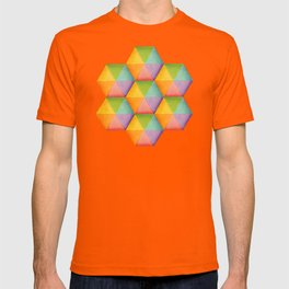 Rainbow Facets T-shirt