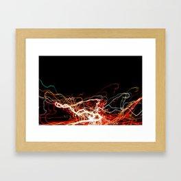 Night Road 2 Framed Art Print