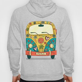 Hippie Bus Peace Hoody