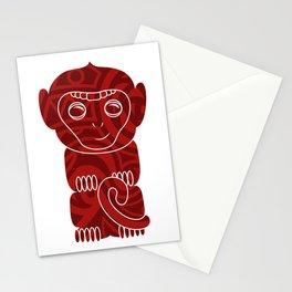 Tiki Monkey Stationery Cards