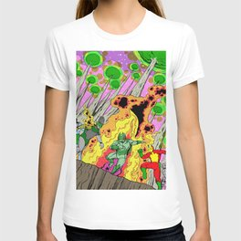 Shamanic Fire Dance T-shirt