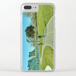 Sunny day in Valencia Clear iPhone Case