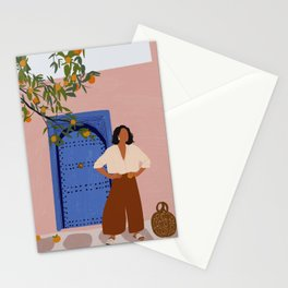 Pink Walls and Morocco Stationery Cards