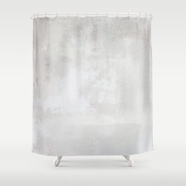 Pearly Plaster Shower Curtain