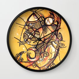 The Lawyer by Steve Fogle Wall Clock