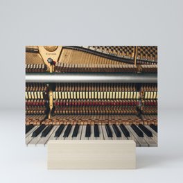 Piano inside Mini Art Print