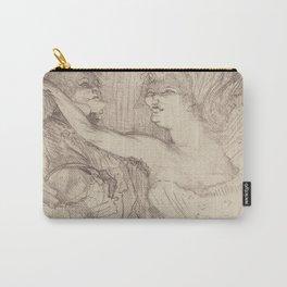 """Henri de Toulouse-Lautrec """"Guy et Mealy, dans Paris qui Marche"""" Carry-All Pouch"""