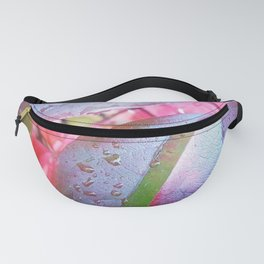 Autumnal red Fanny Pack