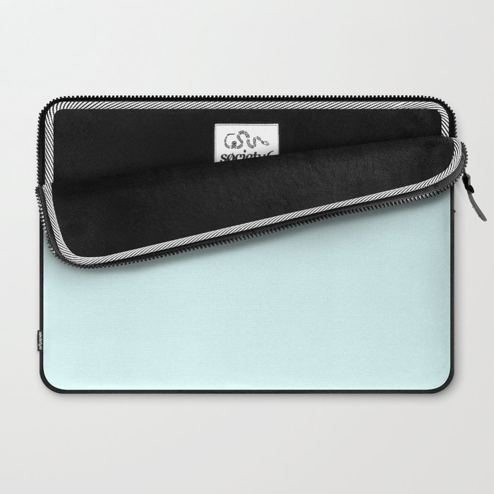 Light Cyan Laptop Sleeve