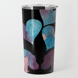 Hippo Art Travel Mug
