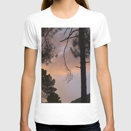 Sunset Through The Trees. Into The Woods. T-shirt