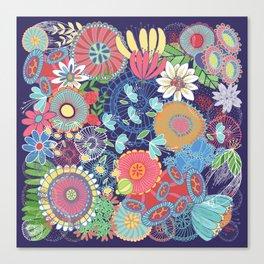 Flower Garden Canvas Print