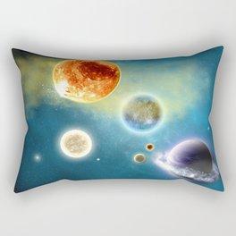 New Solar System Rectangular Pillow