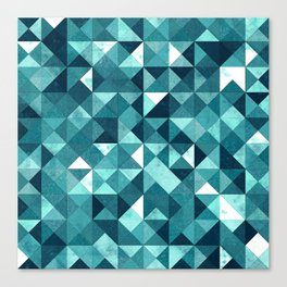 Lovely Geometric Background IV Canvas Print