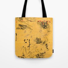 erased 4 Tote Bag