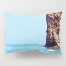 Man and Perce Rock Pillow Sham