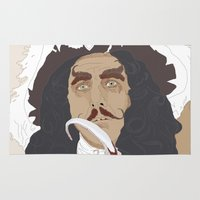 hook Area & Throw Rugs featuring HOOK by Itxaso Beistegui Illustrations