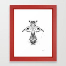 got that? Framed Art Print