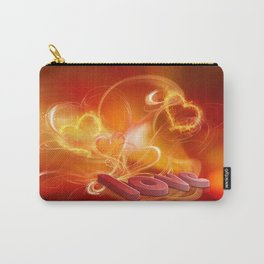 Flammende Liebe - Flaming Love Carry-All Pouch