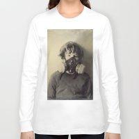 sam smith Long Sleeve T-shirts featuring Sam by Rachel Wisniewski