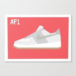 Air Force Minimalist Canvas Print