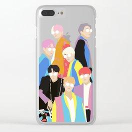 BTS IDOL Hanbok Illustration Clear iPhone Case