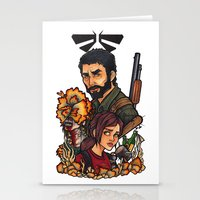 the last of us Stationery Cards featuring The Last of Us by Warbunny