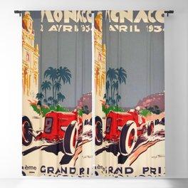 1934 Monaco Grand Prix Blackout Curtain