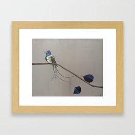 Caeruleus Framed Art Print