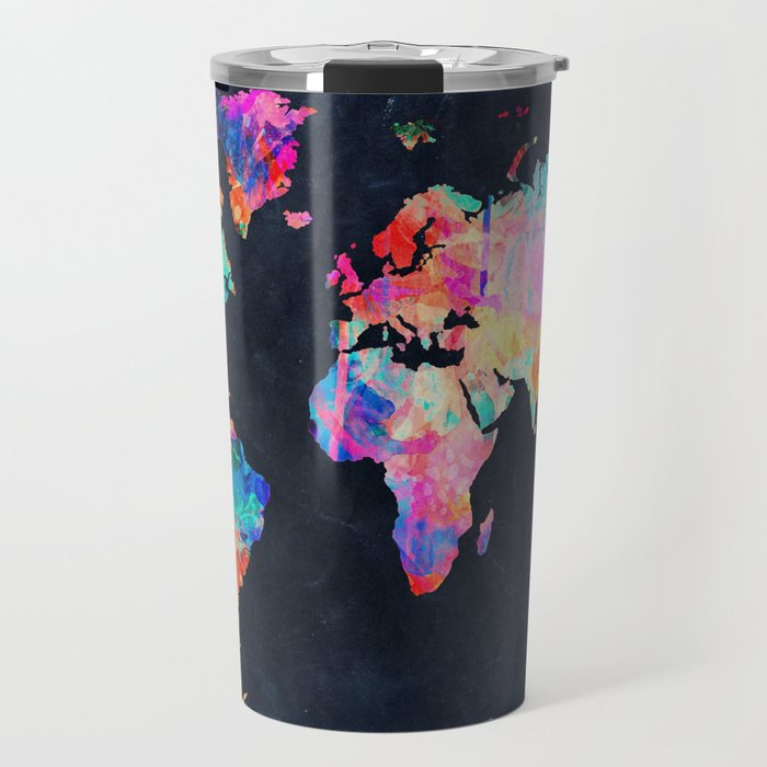 World map travel mug by bekimart society6 world map travel mug gumiabroncs